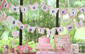 baptism decoration ideas girl baptism decoration ideas atmosphere using baptism