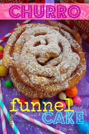 chica chocolatina sweet churro funnel cake