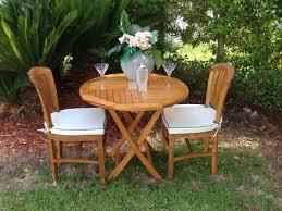 chicteak elzas teak folding dining table u0026 reviews wayfair