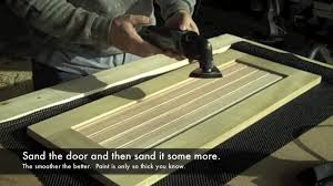 How To Make Old Wood Cabinets Look New How To Build Kitchen Cabinet Doors Youtube