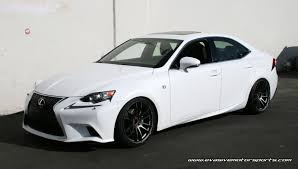 lexus coupe 2007 new lexus is f sport on gram lights 57xtreme wheels