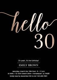 30th birthday invitation 30th birthday invitation with a catchy