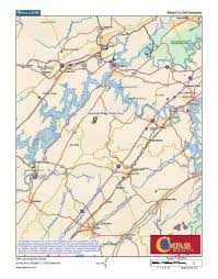 Eastern Tennessee Map by Hurricane Ridge North Tract U2013 Compass South Land Sales
