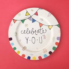 celebration plate family traditions make a celebration plate sponsored by color me