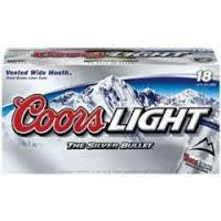coors light 18 pack coors light 18 pk can the wine specialist