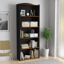 sauder premier 5 shelf composite wood bookcase trend sauder 5 shelf bookcase cherry 16 for your limed oak