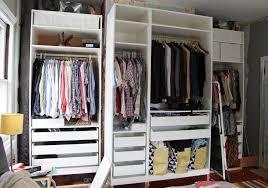 custom closet design ikea wardrobe pax wardrobe turned custom reach in closets beautiful