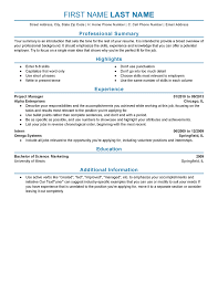 Resume For Work Experience Sample by Experienced Resume Templates To Impress Any Employer Livecareer