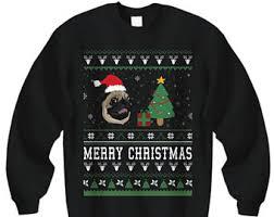 pug sweater pug sweatshirt clothing pugs sweater sweater gift for