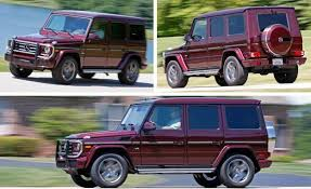 mercedes benz jeep 2016 2016 mercedes benz g550 test review car and driver
