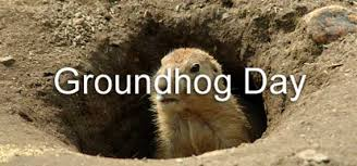 groundhog day lesson
