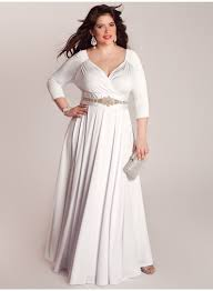 plus size white dresses for women