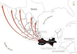 Oaxaca Mexico Map From One River To The Next The Texas Tribune