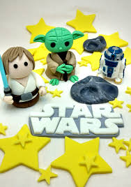 yoda cake topper wars cake topper yoda luke r2d2 and meteor