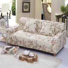 Stretch Sofa Covers by 23 47usd Universal Corner Shaped Sofa Cover Small Flowers Brief