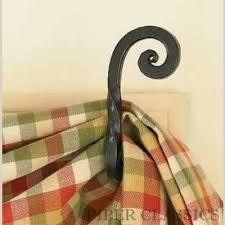Curtain Swag Hooks Fishtail Swag Hooks Scroll Curtain Hooks