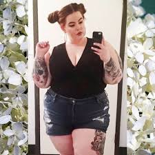 a style guide on jumpsuits for plus size women size model