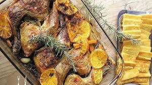 cuisiner une poularde pour noel cuisses de poularde à l orange et au romarin simple et sain