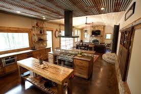 rustic open kitchen designs interior design