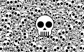 skull cartoon wallpaper wallpaper simplepict com