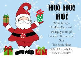 christmas party invitations christmas party invitations by cutie patootie creations