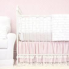 Nursery Bedding For Girls by Marielle U0027s Vintage Pink U0026 Taupe Baby Bedding Caden Lane