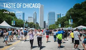 taste of chicago map taste of chicago info schedule chicago food events