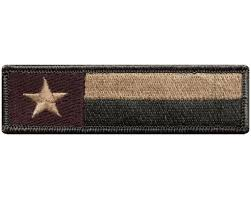 American Flag Morale Patch V121 Tactical Texas State Flag Morale Patch Multi Tan 1