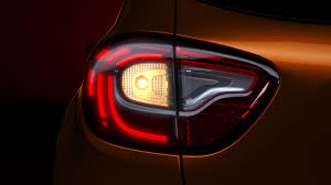 new renault captur 2017 renault captur led tail lamps indian autos blog