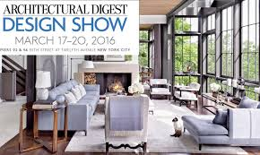 The 2016 Architectural Digest Design Show kicks off tomorrow at