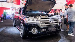 land cruiser car 2016 video toyota land speed cruiser at the 2016 sema show