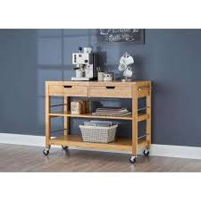 bamboo kitchen carts carts islands u0026 utility tables the