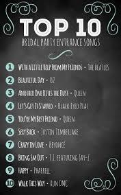 best 25 wedding entrance music ideas on pinterest reception