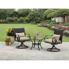 heritage park round dining table walmart mainstays heritage park x bistro table walmart outdoor set