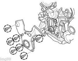 oem honda six cylinder timing belt cover bolts v6 accord pilot