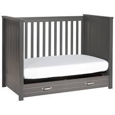 Cribs 3 In 1 Convertible Davinci Asher 3 In 1 Convertible Crib In Slate M13801sl