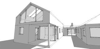 u shaped house plans with central courtyard