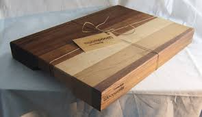 custom wood cutting board edge gain butcher block made from