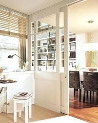 porte en verre pour meuble de cuisine porte de cuisine en verre cloison coulissante en verre et bois
