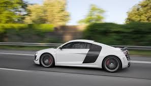 Audi R8 Grey - 2012 suzuka grey audi r8 gt driving side view eurocar news