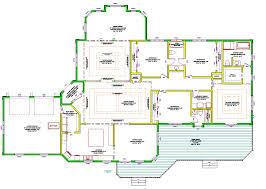 floor plan single level house plans open floor plans plan single