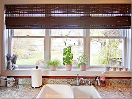 Kitchen Blinds And Shades Ideas by Agreeable Small Kitchen Window Curtains Fantastic Interior Design
