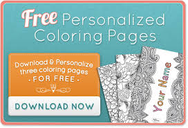 personalized coloring books put story