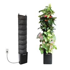 wall garden indoor amazon com florafelt compact kit vertical garden hanging
