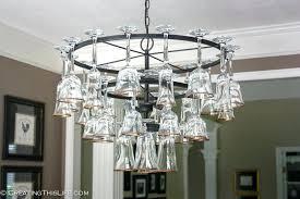 Chandelier Frame Wine Glass Chandelier Frame Eimat Co Awesome Interior Design Ideas