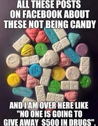 Halloween Candy Meme - police warning look for these in your kid s trick or treat bags