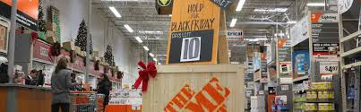 home depot pre black friday the home depot what it takes to transform the store for black friday