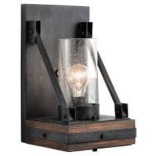 Kichler Light Fixtures Kichler 43436aub Auburn Stained Colerne Single Light 15 Wall
