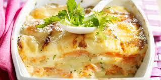 cuisine tartiflette tartiflette au saumon facile recette sur cuisine actuelle