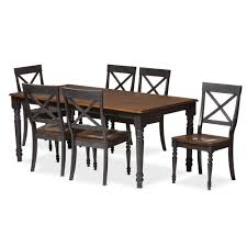 baxton studio wholesale 7 piece sets wholesale dining room